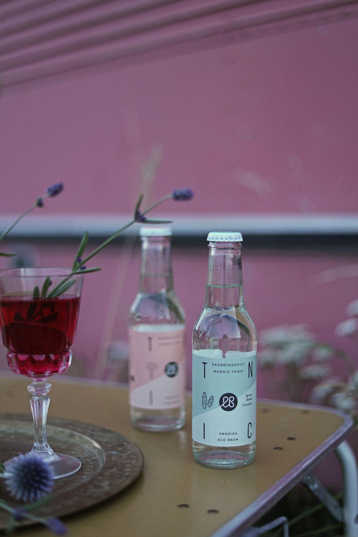 ekobryggeriet soda drink drinkar sommardrink sommardrinkar lavendel rabarber granskott