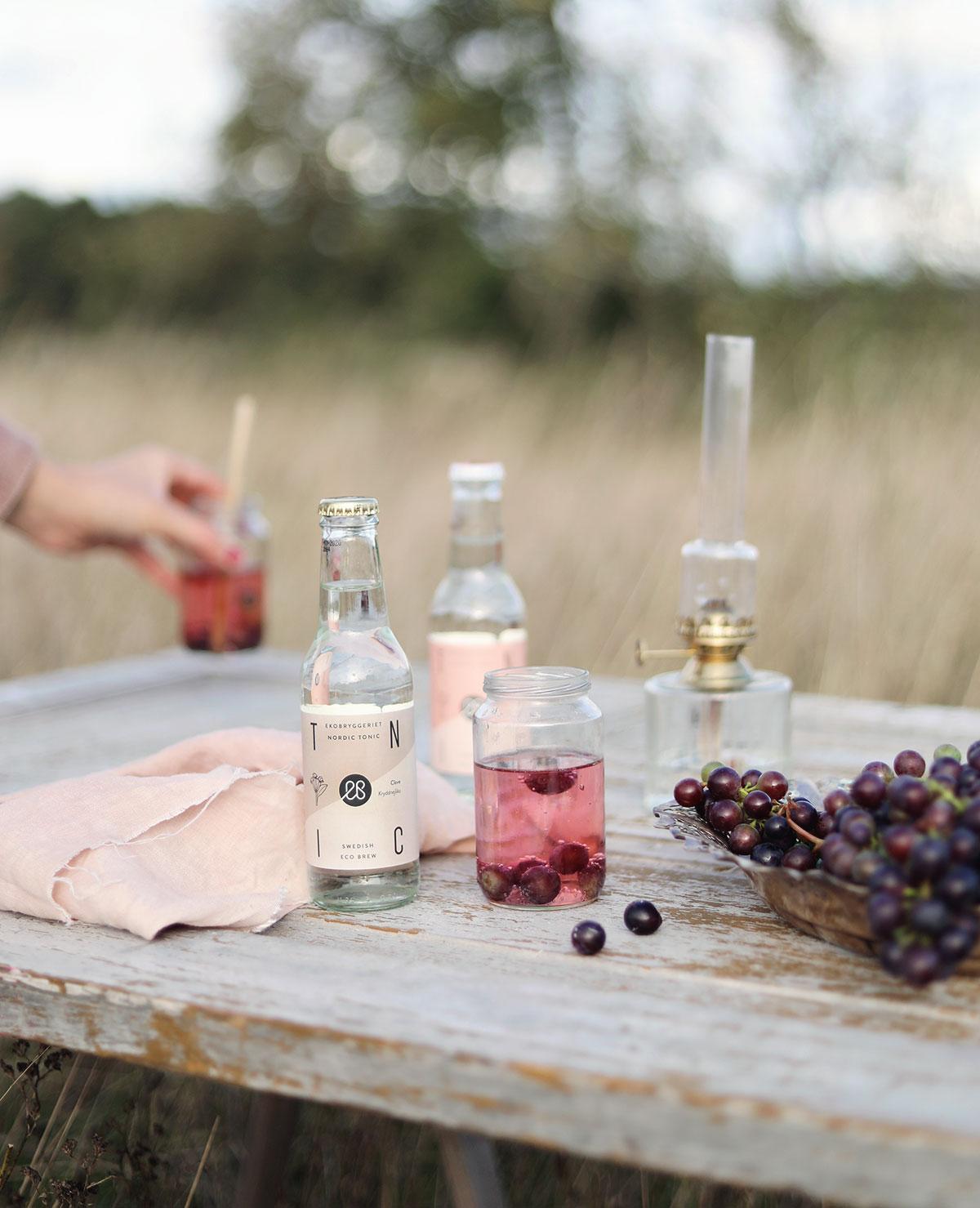 ekobryggeriet drinkar drink vindruvor Gotland soda september