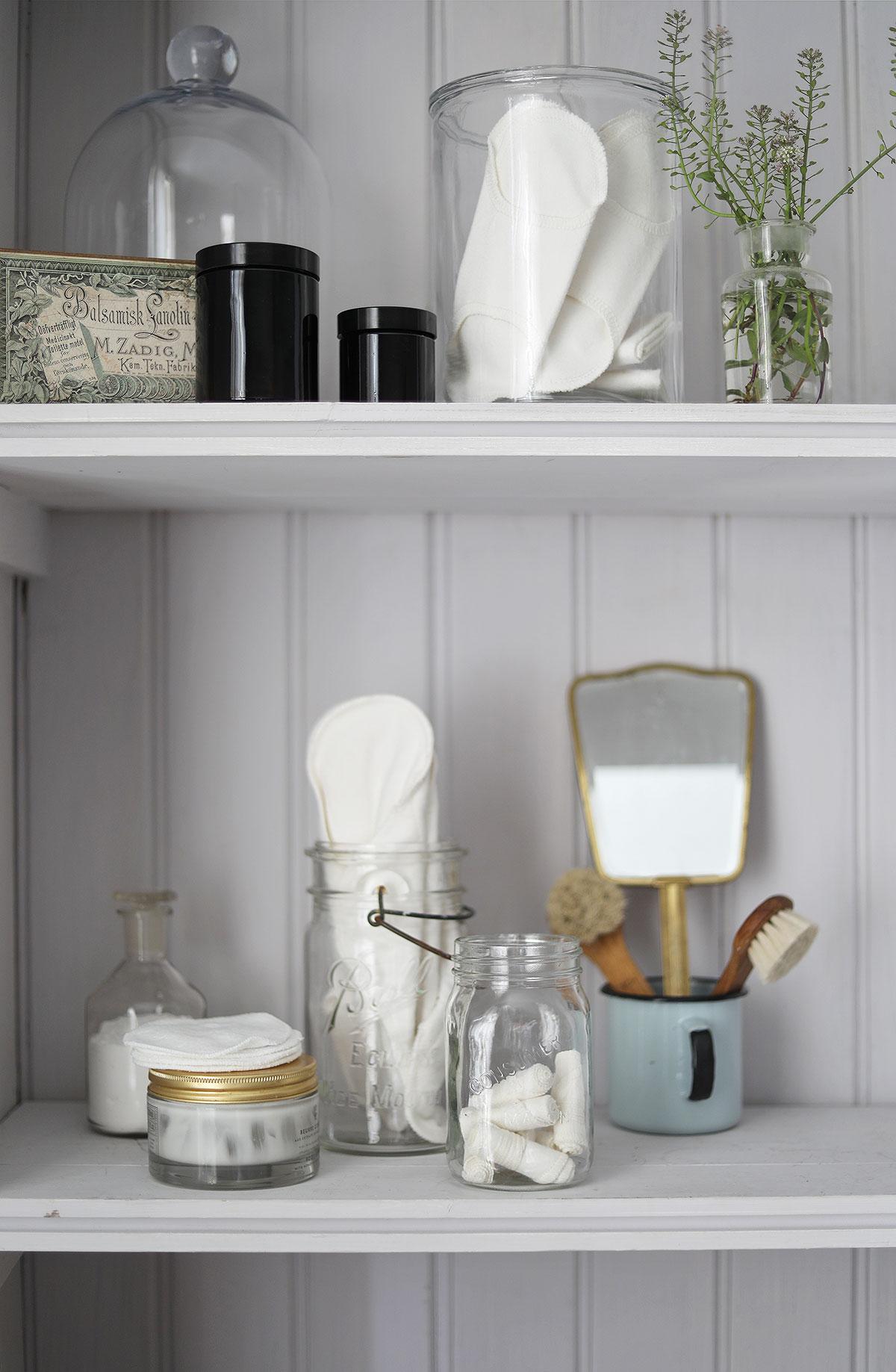 hållbar tygbinda tygbindor badrum engångsfritt tygtamponger DIY deodorant bikarbonat